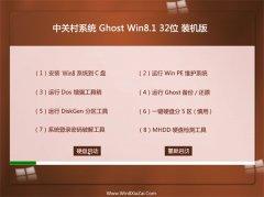 中关村Win8.1 特别装机版 2021.04(32位)